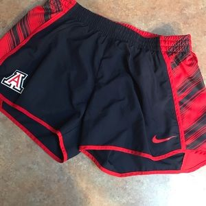 Nike U of A running shorts